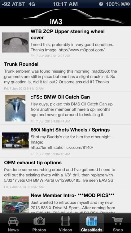iM3 - News & Media for BMW M3 Enthusiasts! screenshot-3