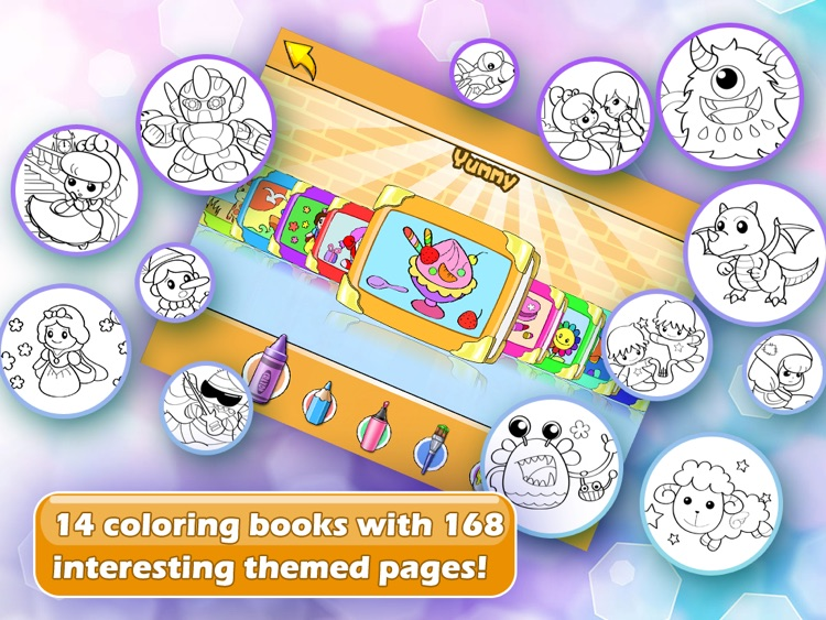 Amazing Coloring Studio for iPad screenshot-3