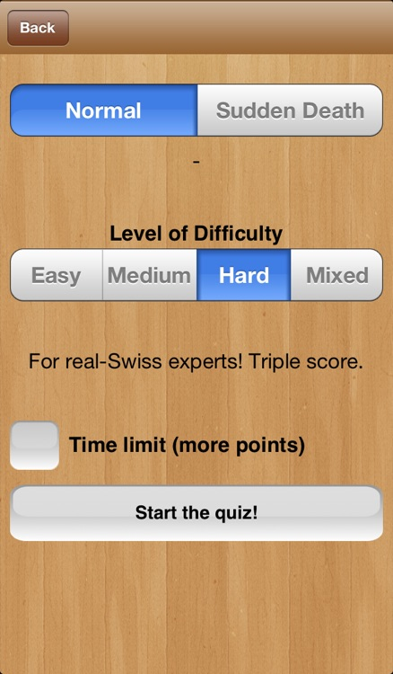Swiss Quiz