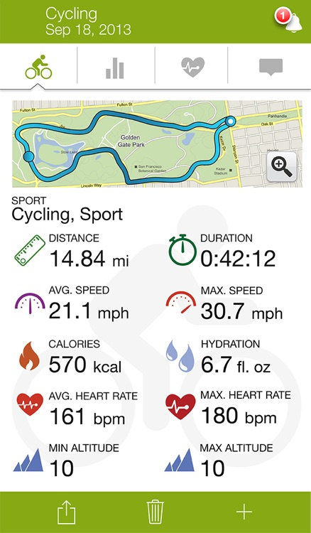 Endomondo Sports Tracker PRO – GPS Track Running Cycling Walking & More
