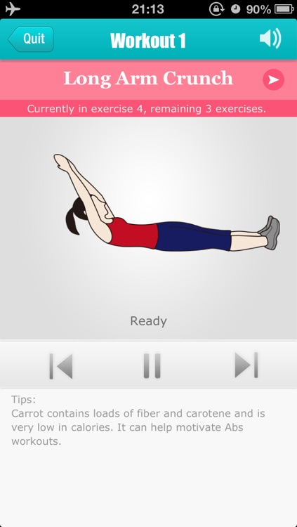 Abs Workouts - Getting A Perfect Belly in 12 Days screenshot-3