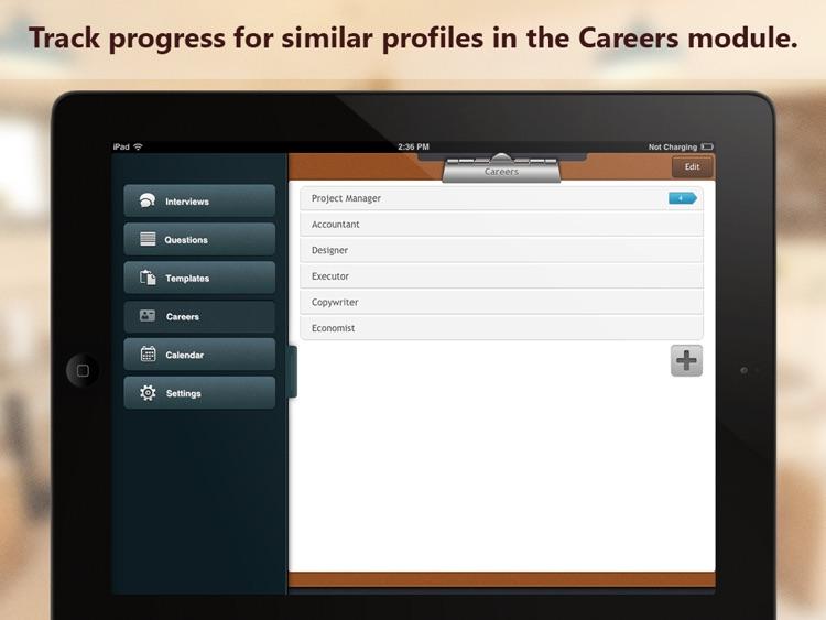 Interview Assistant Pro HD screenshot-4