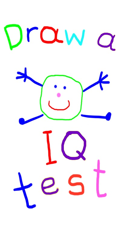 IQ test for children: Draw a Man test