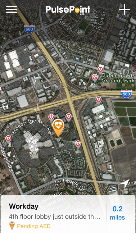 PulsePoint AED screenshot-0