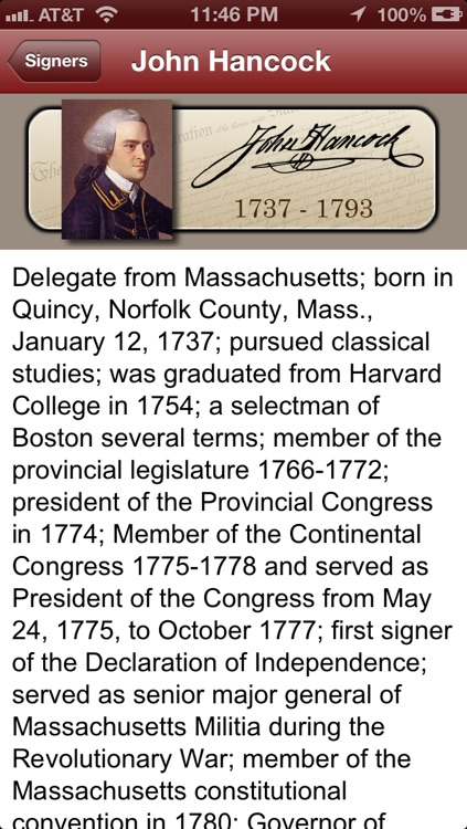 Declaration for iPhone and iPod Touch screenshot-1