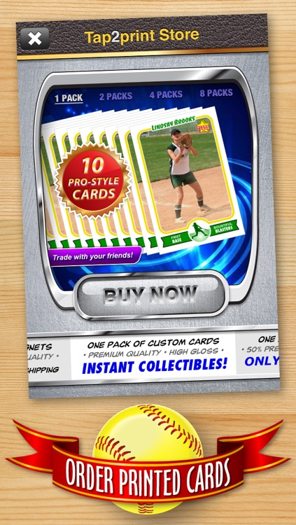 Softball Card Maker - Make Your Own Custom Softball Cards with Starr Cards screenshot-4