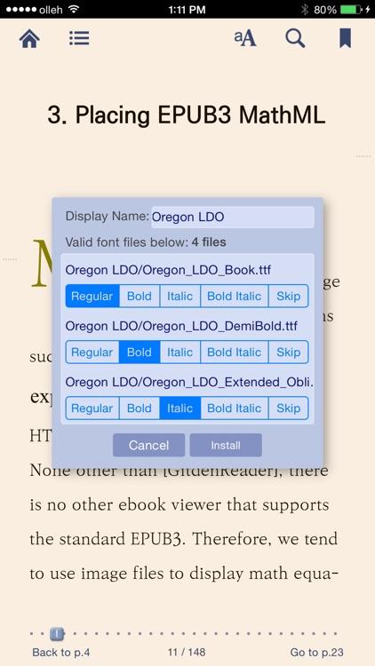Gitden Reader - EPUB 3 Reflow & Fixed-Layout Viewer