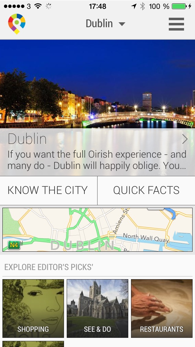 Dublin City Travel Guide - GuidePal