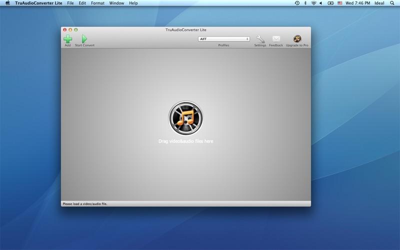 TruAudioConverterLite скриншот программы 1