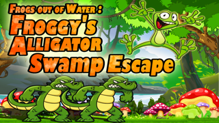 Frogs Out of Water : Froggy's Alligator Swamp Escape