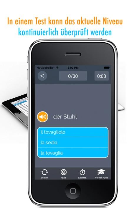 Learn German and Italian Vocabulary: Memorize Words - Free screenshot-4
