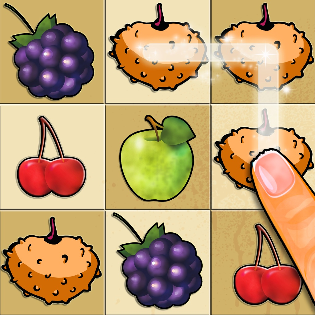 Cave Fruits - Free Swipe & Connect Match-3 Mania