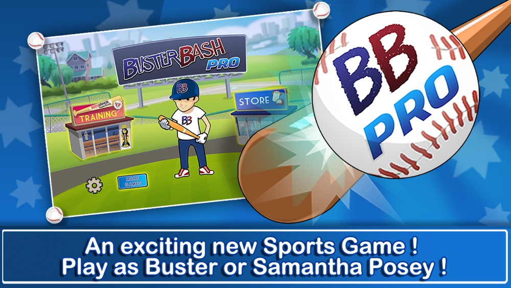 Buster Bash Pro – A Flick Baseball Homerun Derby Challenge from Buster Posey