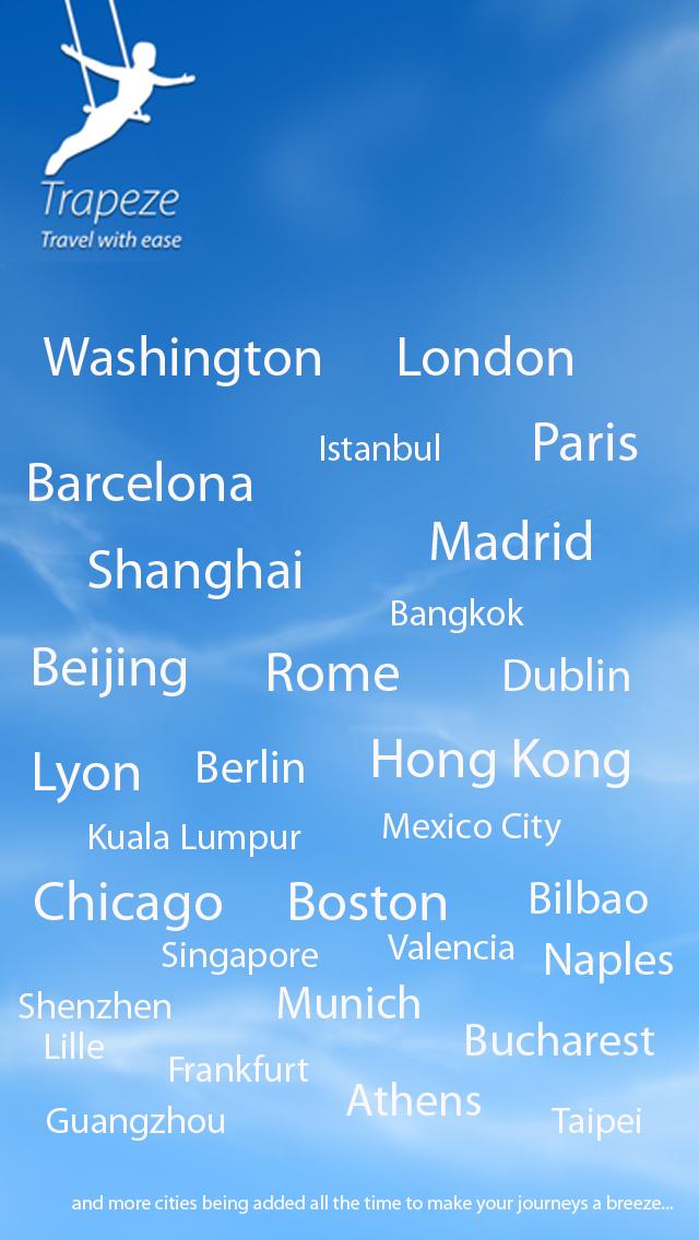 点击获取Awesome Subway,Transit,Tube,Metro,MRT,MTR,underground maps: TrapezeLite