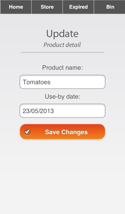Food Safe App