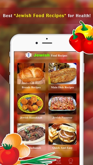 Jewish food recipes on the app store screenshots forumfinder Image collections