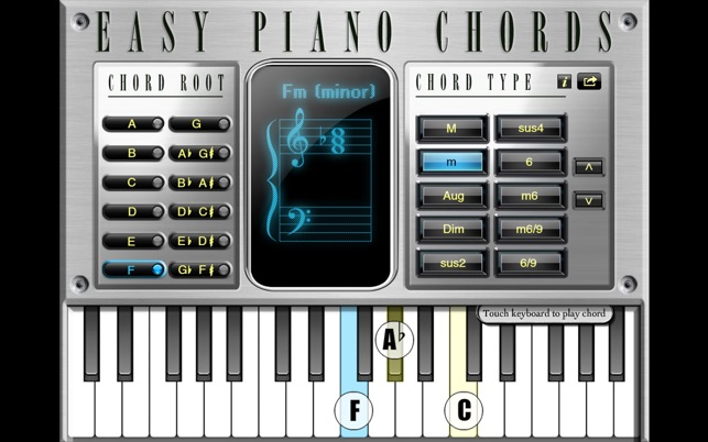 Easy Piano Chords On The Mac App Store