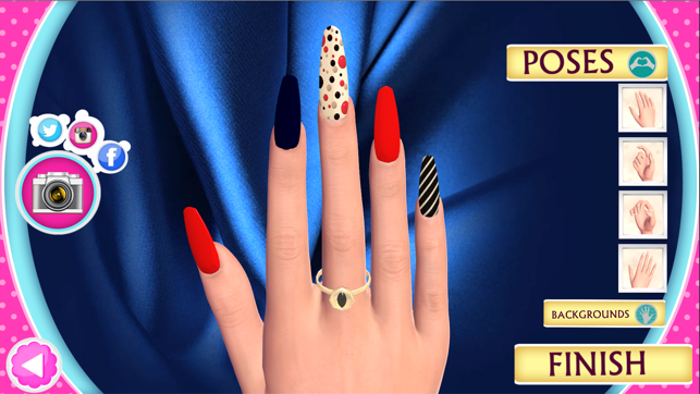 3d Nail Salon Fancy Nails Spa Game For Girls To Make Cute Nail Designs On The App Store