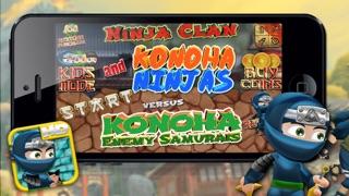 忍者一族と木の葉忍者対木の葉敵侍HD - 無料ゲーム!のおすすめ画像3