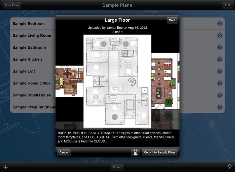 Home Design DIY Interior Floor Layout Space Planning & House Decorating Tool HD by Mark On Call screenshot-4