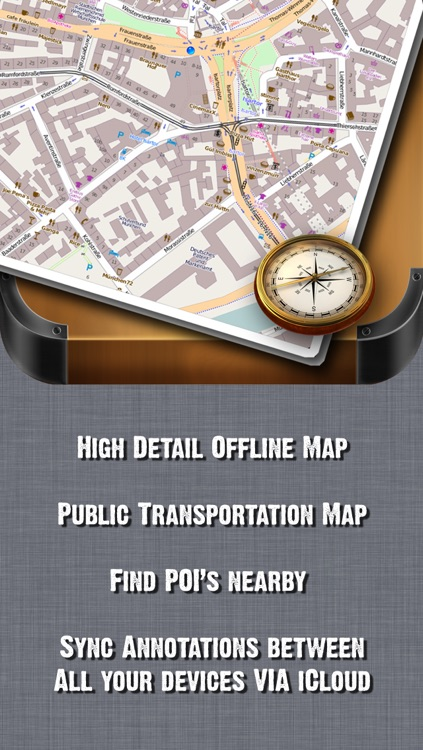 San Francisco Offline Map + Public Transportation map