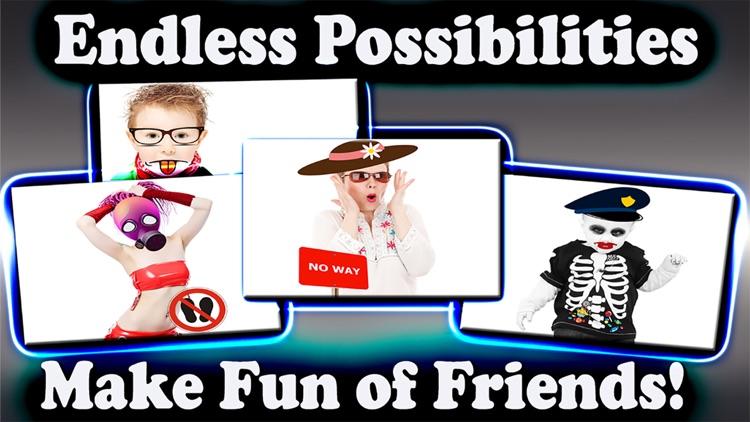 Photo Decorator -Make Fun of Friends Photo Collage