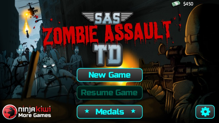 SAS: Zombie Assault TD screenshot-0