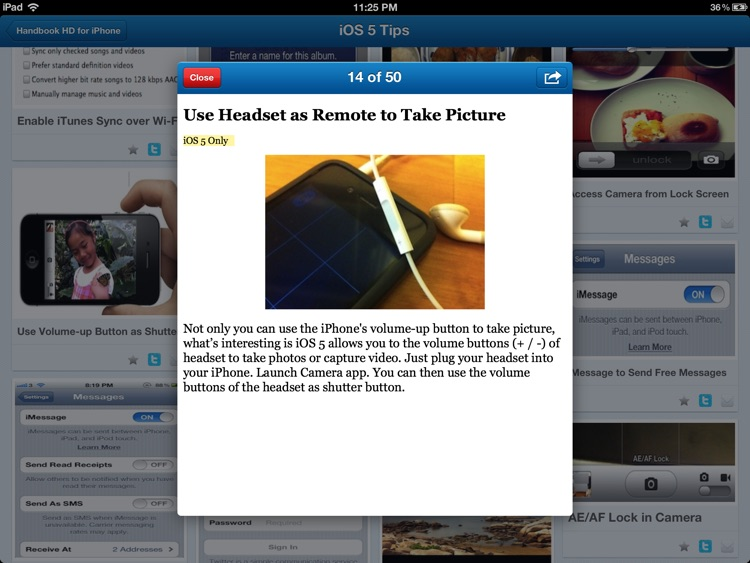 Tips, Secrets & Tricks for iPad - Handbook HD screenshot-2