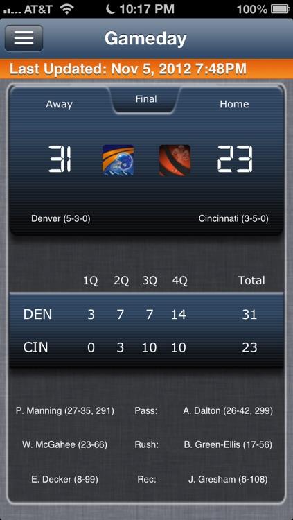 Denver Football Live