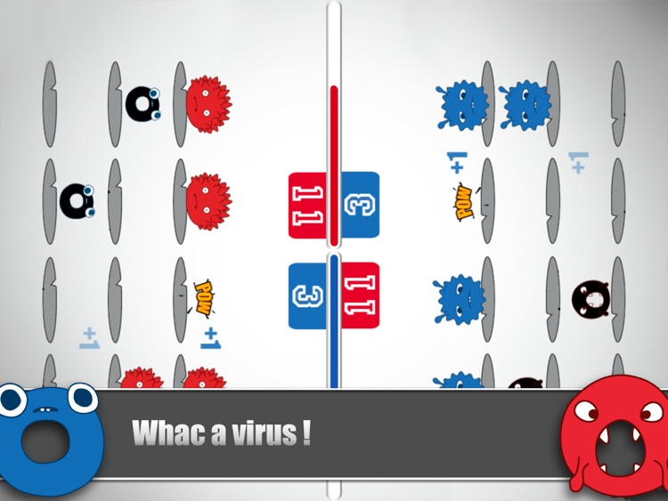 Virus Vs. Virus(multiplayer versus game collection)