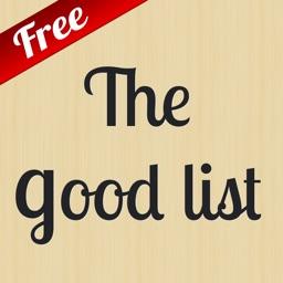 The Good List Free