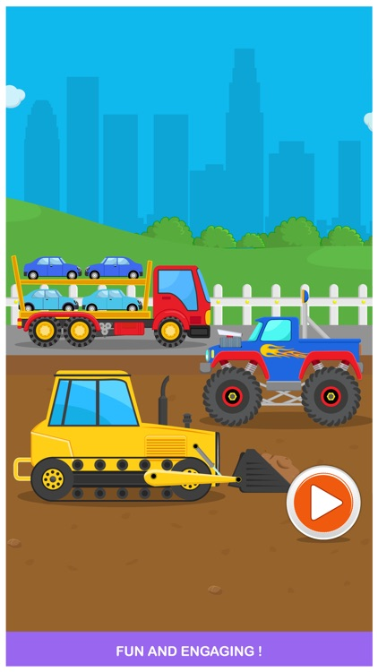 Peekaboo Trucks Cars and Things That Go Lite Learning Game for Kids screenshot-4