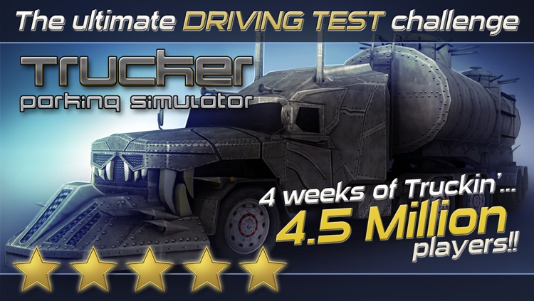 Trucker: Parking Simulator - Realistic 3D Monster Truck and Lorry 'Driving Test' Free Racing Game screenshot-0
