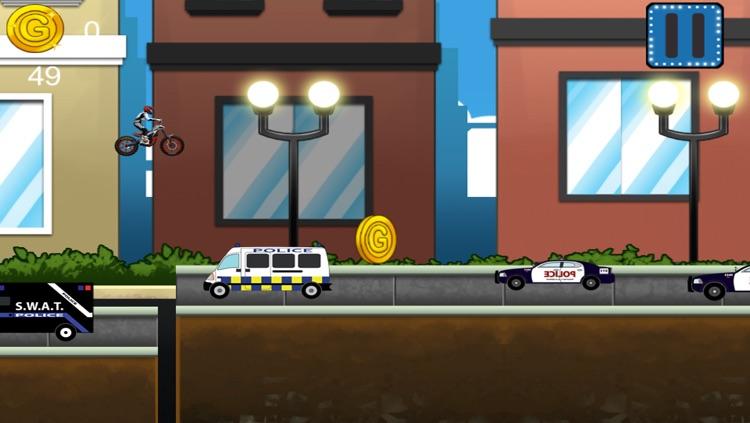 Motorbike Race Police Chase - PRO Turbo Cops Racing Game screenshot-4