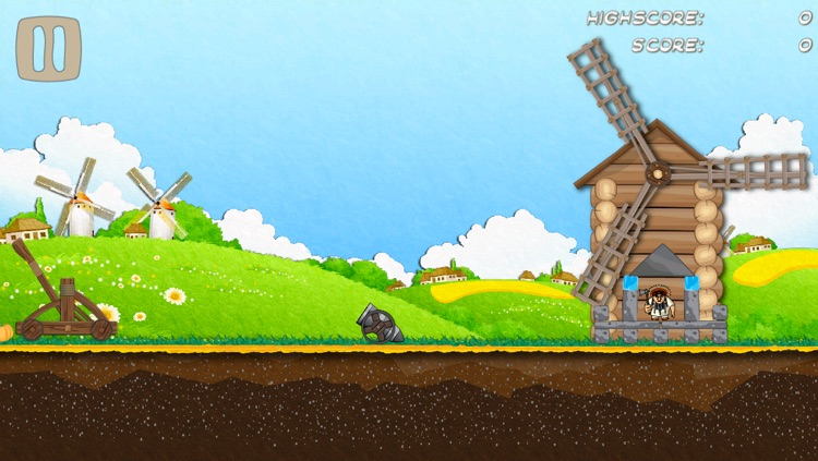 Catapult Attack Lite screenshot-3