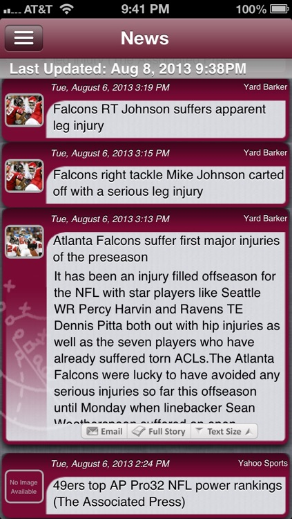 Atlanta Football Live screenshot-1