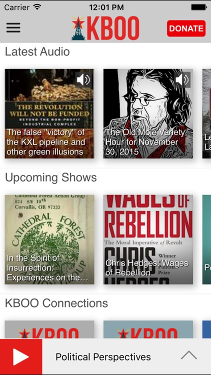 KBOO Community Radio App screenshot-1