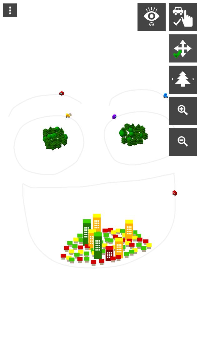 さわって走る!はたらく車(幼児向け) - 無料知育アプリ ScreenShot4