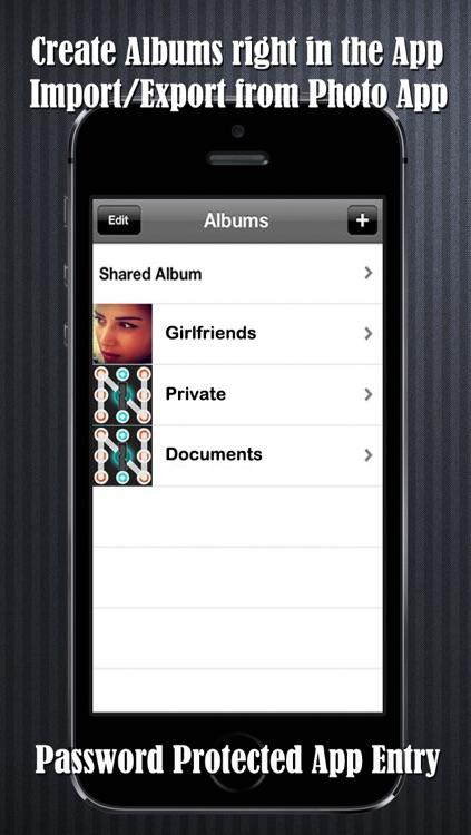 ONE Password Plus - Secret Folder - Private Video and Photo Files screenshot-3