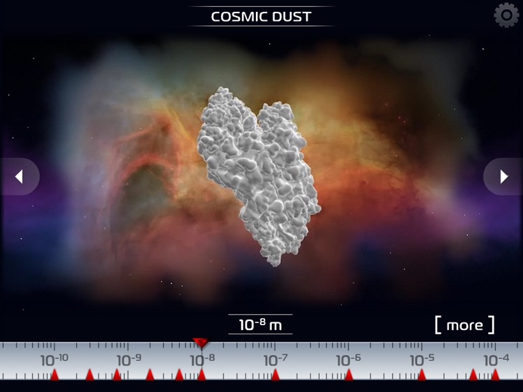 Science - Microcosm 3D HD : Bacteria, viruses, atoms, molecules and particles