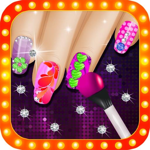 Hollywood Nail Salon-Nail Art Manicure for Girls