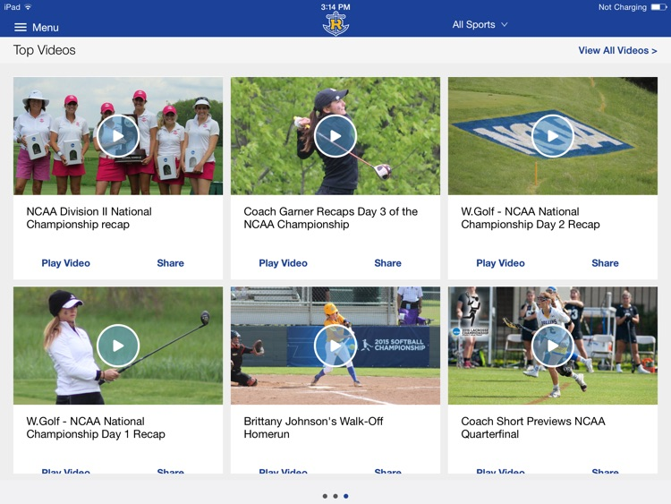 Rollins College Athletics for iPad 2015 screenshot-0