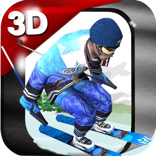 3D Ski Racing