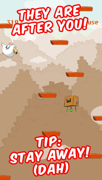 Jump Box Angry with Multiplayer Free – The Best Fun Doodle Platform Game Roll To Mega Heights screenshot-4