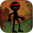 Stickman Kung Fu Ninja Stunt: Jump n Fly Seige icon