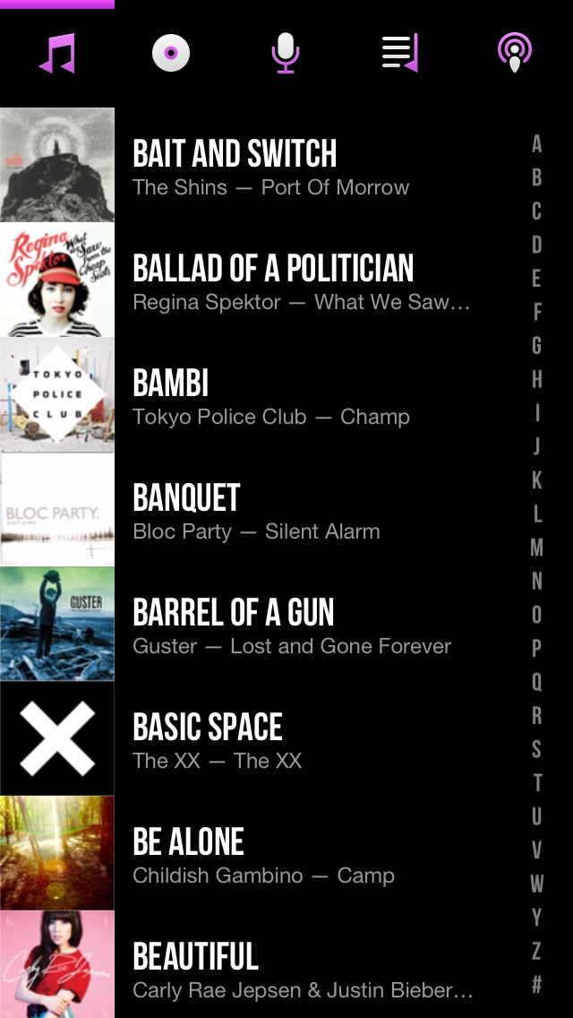 Screenshot for CarTunes Music Player in Chile App Store