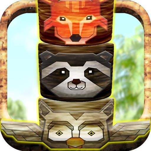 Animal Totem Tribal Tap Tower Build N' Stack Game - Free Version