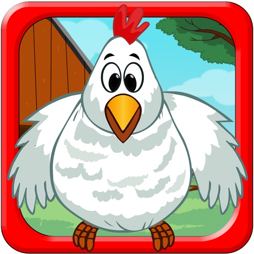 Bouncy Chicken: Get the Worms! iOS App