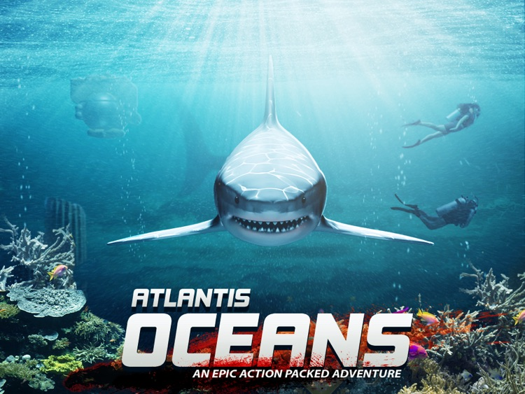 Atlantis Oceans HD Free Scuba Diving Shark Dolphin Fish Whale screenshot-0