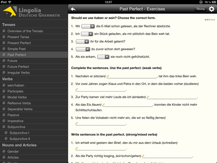 Lingolia German Grammar screenshot-3